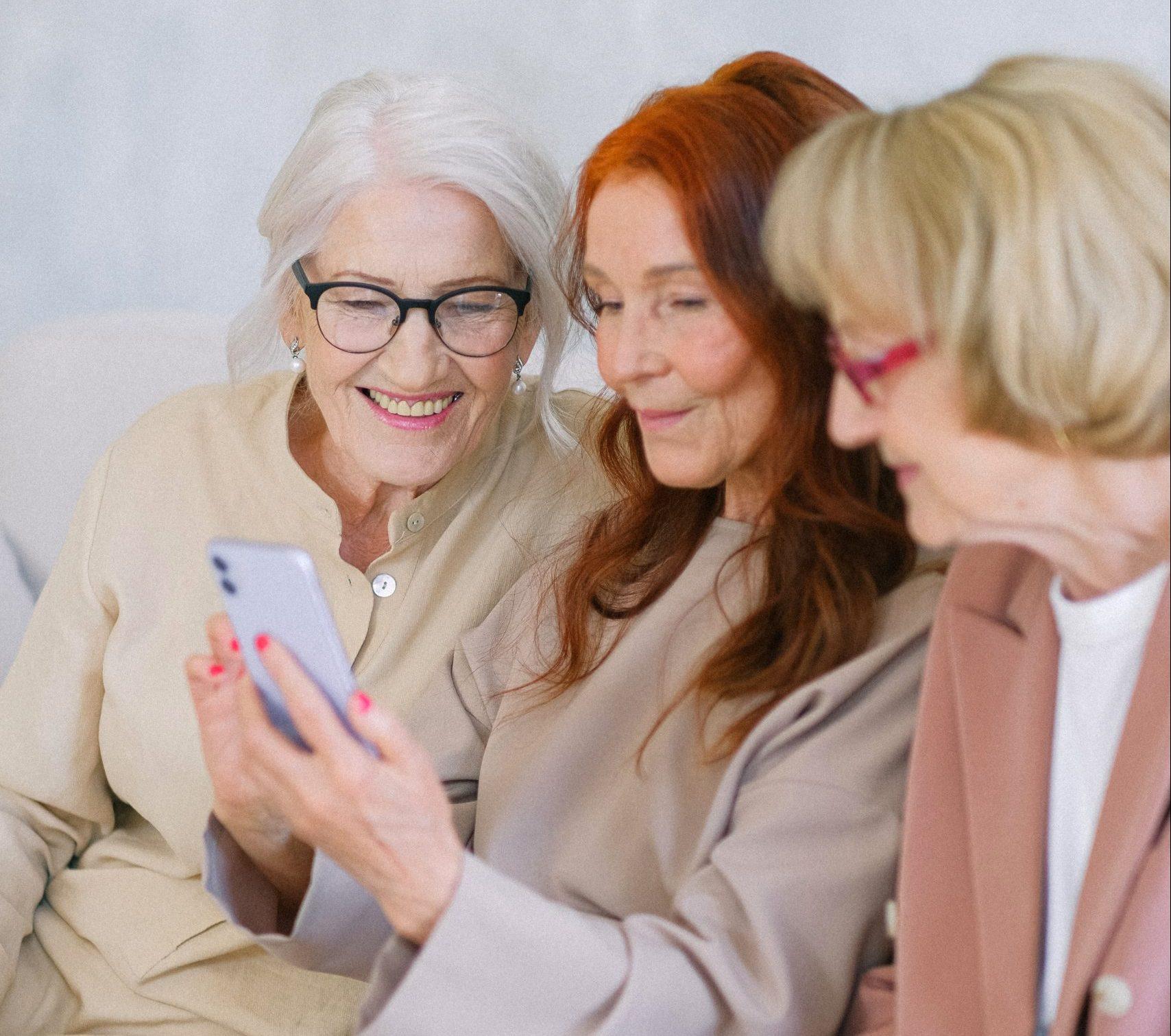 Smartphones im Alter